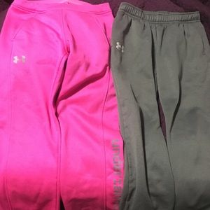 Set of Under Armour sweats size YM